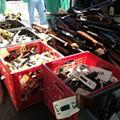 Cleveland Melts 352 Guns at ArcelorMittal