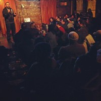 15 Things Going on in Cleveland Memorial Day Weekend Cleveland's comedy scene is growing. Apart from creating comedic greats like Drew Carey and Dave Hill, the underground scene is quickly producing solid comedians with unique life perspectives. The Chucklefck comedy shows are at the forefront of this intentionally hilarious movement. For $6 tonight at Reddstone, you can check out some of Cleveland's funnier assets in this five-comedian-deep line-up. While most of these comedians are still early in their careers, they're more than capable of creating a night full of laughs. The bar upstairs opens at 9 and the show starts at 10 with $5 burgers, pizzas and wings and drink specials. (Patrick Stoops) Photo via Cleveland Scene Archives
