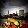 Cloudy with a brisk chill in the air... Fall has landed upon Cleveland.
