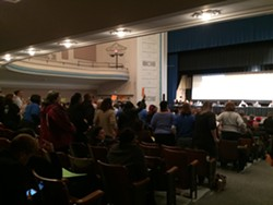Collinwood High School was packed the night of the board's BAC vote. - ERIC SANDY / SCENE