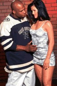 Come and get it: As this scene clearly demonstrates, women love a man in Eck gear.