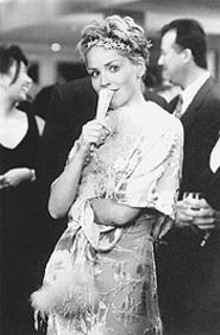 Comedy is pretty: Sharon Stone as Sarah.