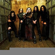 Cradle of Filth's Paul Allender (left) wants to chew your face off.