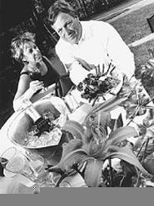WALTER  NOVAK - Creative Concepts' Nancy Yetman and Bill Kvoriak.