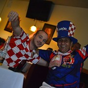 Photos: The Joys and Pains of Local Croatian Fans During the World Cup