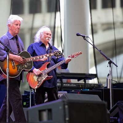 Crosby, Stills and Nash Performing at Jacobs Pavilion