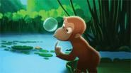 Curious George: Some pleasant nostalgia for the under-five crowd.