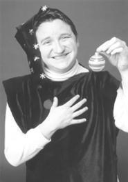 Curtis D. Proctor plays an elf with balls.