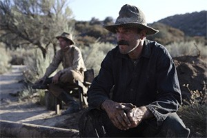 Daniel Day-Lewis tries out his Jed Clampett look in There Will Be Blood.
