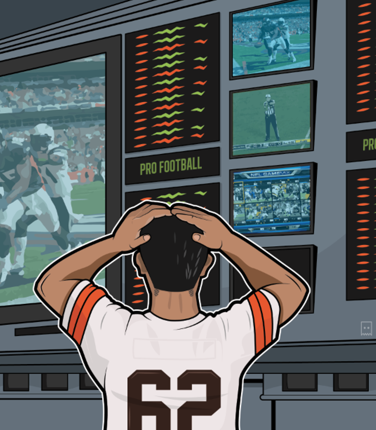 obsessed with professional sports betting