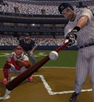 Derek Jeter shows off his lumber.