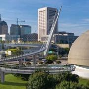 Designers and County Leaders Pretty Much Decide on Pedestrian Bridge Details Prior to Public Meeting Last Night
