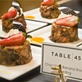 Table 45 dumps the steam-table take on Sunday brunch