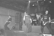 Disengage bares its teeth at Austin's Iron Cactus. - JEFF  NIESEL