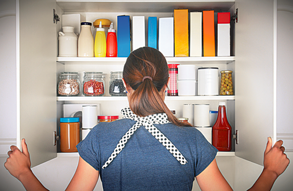 DIY Pantry Planning: A Well-Stocked Kitchen Doesn't Happen