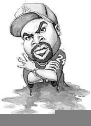 D'oh boy: Ice Cube has gone from gangsta to soccer - dad. - NATE  TROTTER