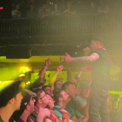 Dropkick Murphys performing at House of Blues
