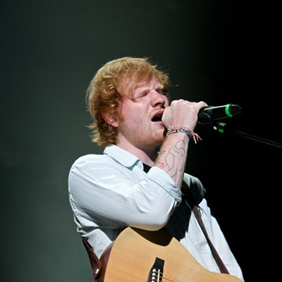 Ed Sheeran and Rudimental Performing at the Wolstein Center