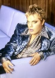 Eddie Izzard is both action transvestite and the - funniest man in or out of a gown. - RANDEE  ST. NICHOLAS