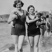 15 Vintage Cleveland Beach Photos Edgewater, 1927.