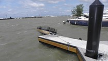 Edgewater Marina Floating Docks Show First Signs of Frailty
