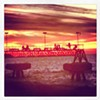 Edgewater sunset.
