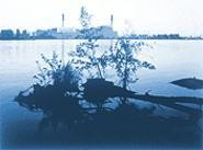 """Eletric Plant From Beaver Island"" By John Pfahl, - photograph."
