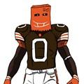Embarrassed Browns Fan