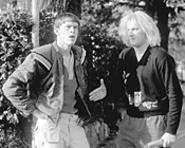 Eric Christian Olsen and Derek Richardson reach for - the laughs.