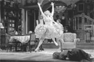 Essie (Kathryn Cherasaro) capers joyfully through this American classic.