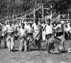 Euclid Beach potato sack races, 1934.