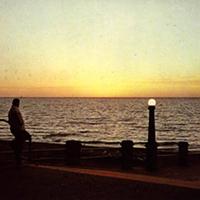 15 Vintage Cleveland Beach Photos Euclid Beach sunset.