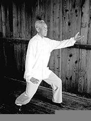 Everybody stretch now! T'ai Chi, part of the Iron & Silk - Visiting Masters Series.