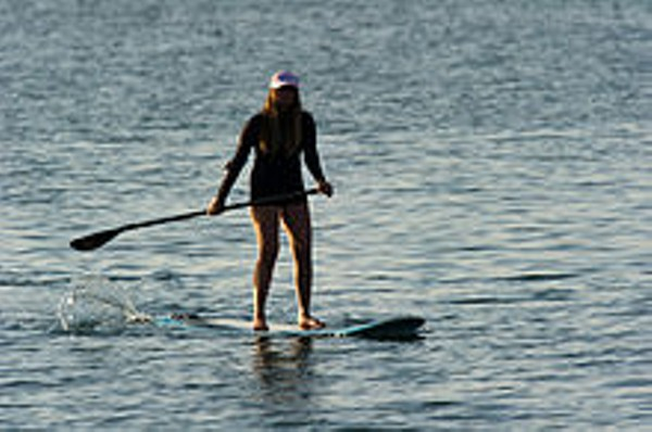 Go Stand-Up Paddling on the Rocky River