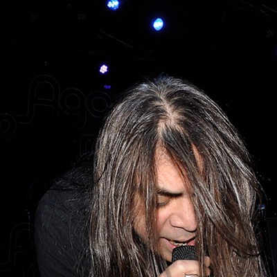 Fates Warning Performing at the Agora Ballroom