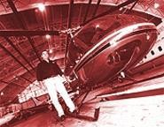 Fight or flight: Burke airport is the temporary home of - McCabe's chopper. - WALTER  NOVAK