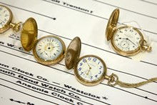 WWW.TARAGHATIPHOTO.COM - Find rare and restored timepieces at the Regional Clock & Watch Show May 15-16 at Lakeland Community College in Kirtland.