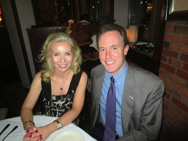"""FitzGerald with his family friend Joane Grehan. They were found in a car at 4:30 a.m. in October, 2012, """"just talking."""" - COURTESY OF THE CLEVELAND MAYO SOCIETY"""