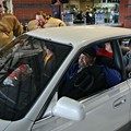 """Five Guys Competing in """"Sit-In"""" Competition to Win a Car at Akron Aeros Ballpark"""