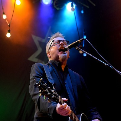 Flogging Molly performing at House of Blues