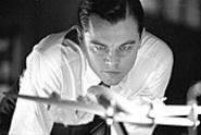 Fly, boy: Leonardo DiCaprio takes flight as Howard - Hughes in The Aviator.