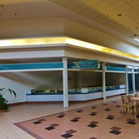 15 Photos of the Abandoned Canton Centre Mall Former Added Touch store. Photo Courtesy of Nicholas Eckhart