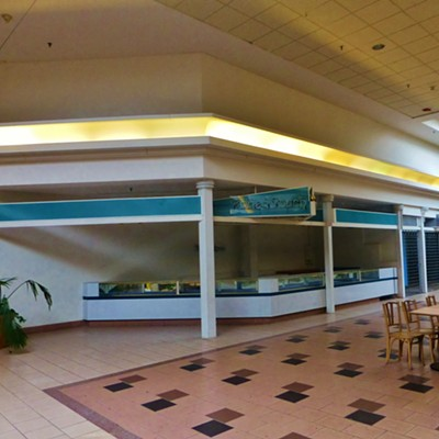 15 Photos of the Abandoned Canton Centre Mall
