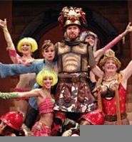 Forum's over-the-top cast never overstays its welcome.