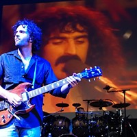 10 Things Going on in Cleveland this Weekend (October 11-13) Frank Zappa remains among the most cherished composers and artists of the late 20th century. His legacy is strong and alluring. Dweezil Zappa, the late musician's oldest son, has been carrying the torch since 2006, performing his father's music with the same sorta zeal originally infused into the Zappa canon. Consistently ranked as one of the most exciting and entrancing live shows touring these days — among fans and the uninitiated alike — Zappa Plays Zappa is an absolutely force. It's apparent that Dweezil cares about the music. Onstage, he takes his role as reverent conduit quite seriously. It also helps that he picked up more than a handful of his old man's ridiculously talented genes. Tonight's show starts at 8 p.m. on the Kent Stage. Tickets are $28-$66. (Sandy) Photo Courtesy of Todd V. Wolfson for the Kevin Welch Website