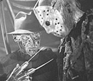 Freddy and Jason: Gettin' deader all the time.