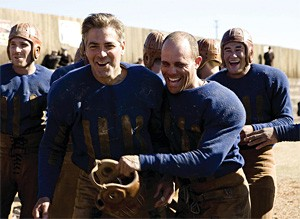 From ladies' man to man's man: George Clooney and crew in Leatherheads.