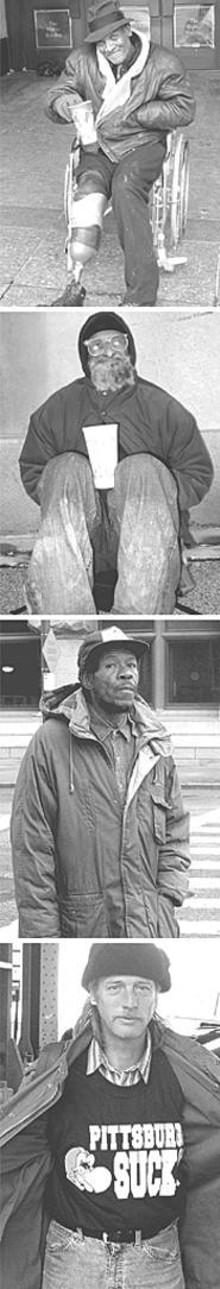 PHOTOS BY JIMI IZRAEL - From top: Robert, Ike G., Jo-Jo, and Charley.