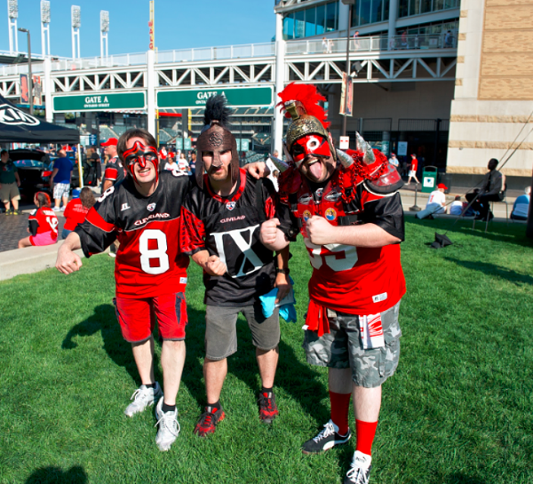 Fun Photos from the Cleveland Gladiators ArenaBowl on Saturday