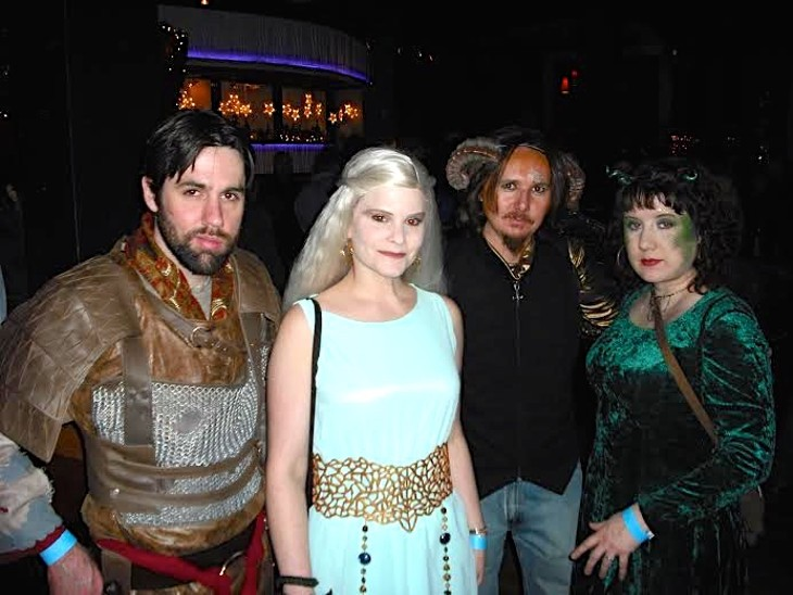 Fun Photos of the Scene Events Team at Hodor-Rave of Thrones at Velvet Dog